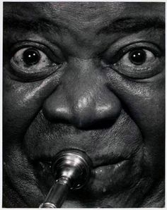 "Louis ""Satchmo"" Armstrong- Satchmo is actually short for satchel mouth, referring to how big his mouth was ;)"