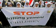 """Top News: """"YEMEN POLITICS: Yemeni Women Protest Against Saudi War Outside UN Office"""" - http://politicoscope.com/wp-content/uploads/2017/03/YEMEN-POLITICS-Yemeni-Women-Protest-Against-Saudi-War-Outside-UN-Office.jpg - Saudi Arabia has been pounding Yemen since March 2015. Over 12,000 people have died and over 40,000 wounded since the onset of the aggression, which was launched in an alleged attempt to bring Yemen's former Riyadh-allied government back to power.  on World Pol"""
