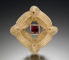 Pin/pendant by Anastasia Azure