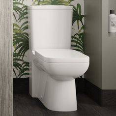 Close Coupled Toilets, Hudson Reed, Flush Toilet, Contemporary Bathrooms, Flushed Away, Toilets