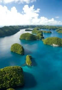 Republic of Palau, Micronesia  I've been here, and it is more beautiful than you can possibly imagine