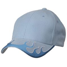Flame Cap (03)-Powder Sky White