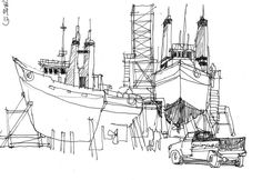 chantier naval 2 chalutiers | by chrisaqua47