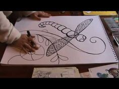 ▶ Giant Dragonfly tangle - YouTube