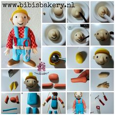 Can we build it? Yes we can! Here is my Bob the Builder pictorial to keep you occupied this weekend  xxx Bibi  #bibisbakery