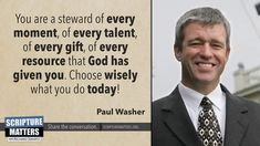 Word Of Faith, Word Of God, Scripture Quotes, Bible Verses, Paul Washer Quotes, Choose Wisely, Christian Living, Good Advice, Christian Quotes