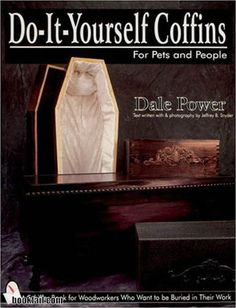coffin DIY.  And don't we all need that?  This pinner has some wonderful Halloween posts - you should check them out!