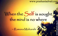 When the Self is sought, the mind is nowhere - Ramana Maharshi #shriprashant #advait #raman #self #mind Read at:- prashantadvait.com Watch at:- www.youtube.com/c/ShriPrashant Website:- www.advait.org.in Facebook:- www.facebook.com/prashant.advait LinkedIn:- www.linkedin.com/in/prashantadvait Twitter:- https://twitter.com/Prashant_Advait