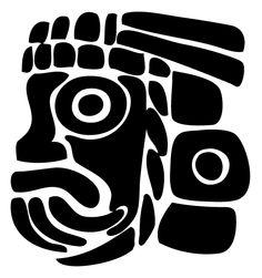 Aztec Mythology (Gods and Goddesses) – Printable coloring pages Aztec Symbols, Mayan Symbols, Viking Symbols, Egyptian Symbols, Viking Runes, Ancient Symbols, Mayan Tattoos, Inca Tattoo, Indian Tattoos