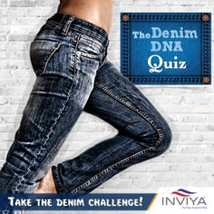 Are you game to take the denim challenge! Tell us, the fabric Denims originated from which country? a)USA b)France c)UK d)Italy Comment below to see if you've got it right. Uk D, Fashion Quiz, New Freedom, Challenges, Skinny Jeans, Italy, Spandex, France, Italia