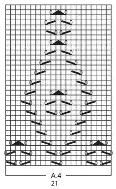 Stickade DROPS sockor i Fabel med hålmönster. Stl 35 – 43. Gratis mönster från DROPS Design.