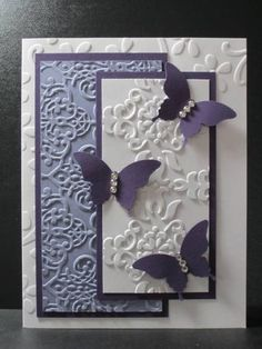 3 diff embossing folders overlaid
