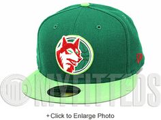 Minnesota Timberwolves Kelly Treasure Isle Watermelon Dunk SB Scarlet New Era Hat