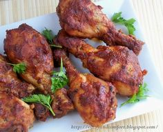 Spicy Barbeque Chicken