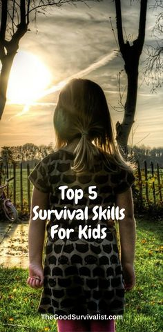 Every kid should know these skills by age 12. Click the link now so you can learn what they are:  http://www.thegoodsurvivalist.com/top-5-survival-skills-every-kid-should-have-by-the-age-of-12/