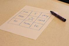 Sight Word Bingo - I Can Teach My Child!
