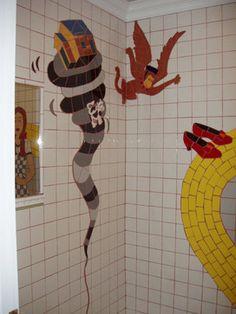 Wizard of Oz Bathroom