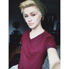hot androgynous girls tumblr