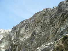 "a part of a mountain in ""Parguito"" beach. Nueva Esparta, Venezuela."