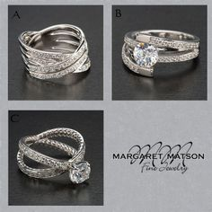 Which of these diamond rings is your favorite?