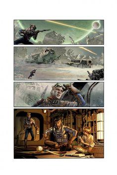 Annikin Starkiller gets The Star Wars treatment from Dark Horse Comics (1974 original script treatment as a comic book)