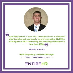 EVERYONE'S #HAPPIER ON #ENTIREHR!! #HappyClients #Testimonials #ClientFeedback #ClientReviews #Reviews #WorkforceManagementSoftware #Recruiting Workforce Management, Things To Think About, Software, Success, Australia, Thoughts, Sayings, Business, Happy