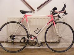 My first road bike..my pink baby!