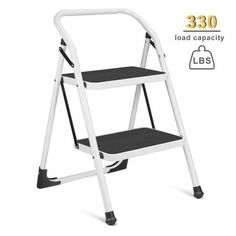 Surprising 10 Top 10 Best 2 Step Stools In 2018 Folding Step Stool Caraccident5 Cool Chair Designs And Ideas Caraccident5Info