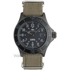 Mens Glycine Combat SUB Stealth Automatic Watch 3863.99AT9N8-TB2