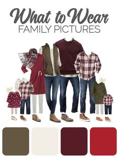 Fall Family Picture Outfits, Christmas Pictures Outfits, Family Picture Colors, Family Portrait Outfits, Family Photos What To Wear, Winter Family Photos, Large Family Photos, Family Christmas Pictures, Family Pics