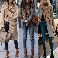 charming fall outfits ideas for women that looks cool 10 ~ my. charming fall outfits ideas for w. Cute Fall Outfits, Winter Fashion Outfits, Fall Winter Outfits, Look Fashion, Autumn Winter Fashion, Casual Outfits, Womens Fashion, Fashion Dresses, Maxi Dresses