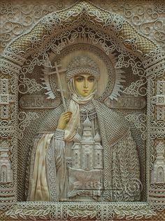 'St. Princess Olga of Constantinople'. Denshchikov Vladimir