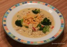 Southwestern style creamy turkey soup