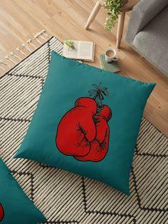 « Gants de boxe rouges - Boxe, sport » par LEAROCHE Throw Pillows, Sport, Boxing, Gloves, Cushions, Products, Toss Pillows, Deporte, Sports