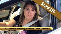 This customer asked by the dealership to pay $160 for her 2012 Buick Regal PEPS key (push start). She called Heritage Locksmith and get more then 40% off of ...