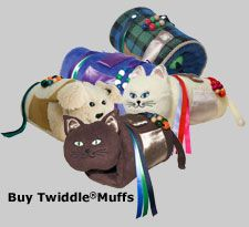 All of the Twiddle Muffs. Sensory Tools