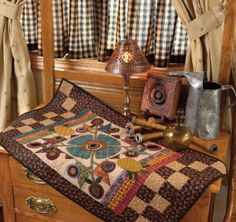 One of the quilts featured in Simply Beautiful Quilts 2013 calendar by Kim Diehl. I just love her designs!