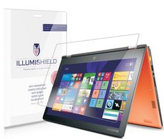 "ILLumiShield - Lenovo Yoga 11S Screen Protector Japanese Ultra Clear HD Film with Anti-Bubble and Anti-Fingerprint - High Quality (Invisible) LCD Shield - Lifetime Replacement Warranty - [2-Pack] OEM / Retail Packaging. Each layer provides specific functions that allow the Ultra Clear HD line of screen protectors to outperform competitor products that use inferior materials and manufacturing processes. Crafted to be as invisible as possible, our screen protectors offer ""True Touch""..."