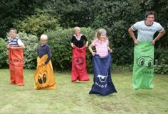 who could pass on an old fashioned sack race!