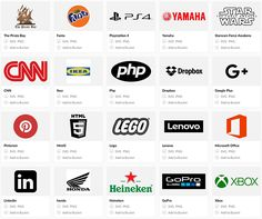 On the Creative Market Blog - Instantly Download Thousands of Logos With This Awesome Search Engine