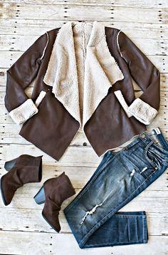 Saratoga Fur Lined Jacket