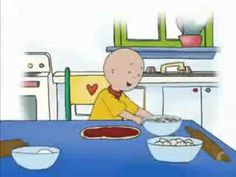 Caillou the Chef. #kids @mad4clips