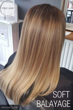 Gorgeous soft balayage straight hair toned to perfection Gorgeous soft balayage straight hair toned to perfection Treat yourself to a new colour today Call Fray Hair in Hoylake Wirral on 0151 345 1620 to book your appointment n… - Balayage Straight Hair, Soft Balayage, Short Straight Hair, Straight Hairstyles, Thick Hair, Soft Blonde Hair, Emo Hairstyles, Blonde Hair Caramel Highlights, Straight Hair With Highlights