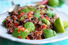 Rød quinoasalat