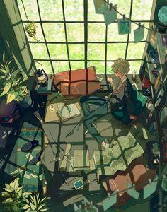 Paisajes anime, aesthetic anime, aesthetic art, art reference, manga an Art And Illustration, Illustrations, Fantasy Kunst, Fantasy Art, Aesthetic Art, Aesthetic Anime, Pretty Art, Cute Art, Anime Kunst
