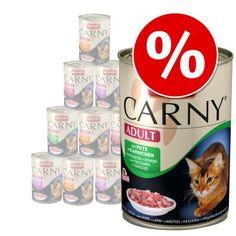 Jetzt #Animonda #Carny Adult 12 x 400 g nur 11,49€ bei #Zooplus -->  http://aklam.io/pz8sLp #Katzenfutter #Nassfutter #uneedit