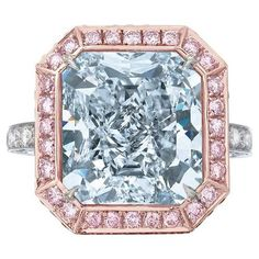 The Royal Blue Diamond 10.06 Carats