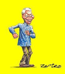 Zapiro captures the Mandela jive