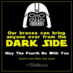 A little #orthomarketing humor as we celebrate May The Fourth Be With You and…