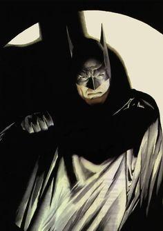 Alex Ross (1970) Ilustrador y dibujante de historietas estadounidense.- Batman